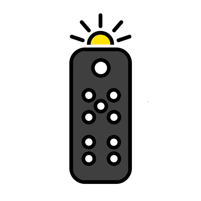 Wireless Remote with Flashlight